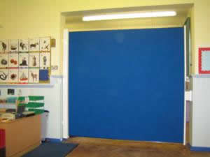 Aquarius Blinds - blackout blinds velcro