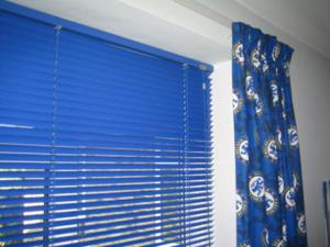 Aquarius Blinds Motspur-park  - blue blinds