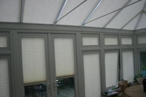 Aquarius Blinds - silver blinds